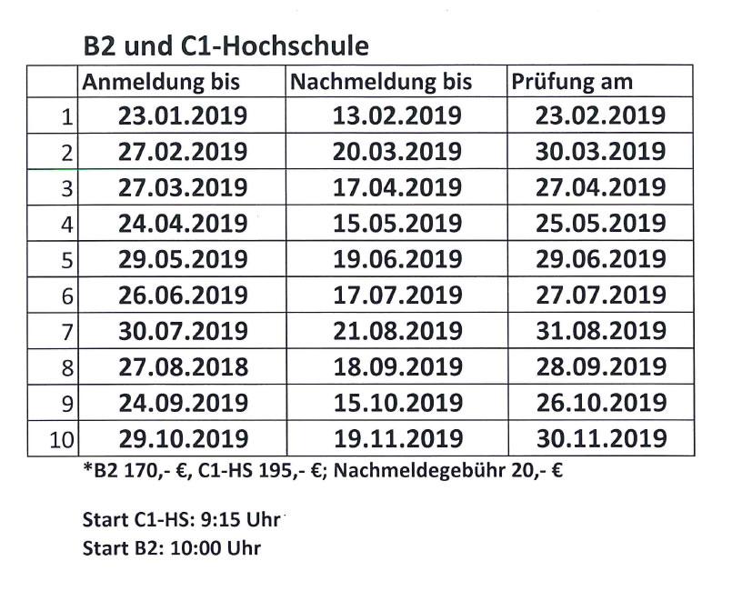 Deutschkurse In Berlin Charlottenburg Termine